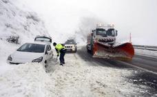 Asturias, bajo el frío Ártico