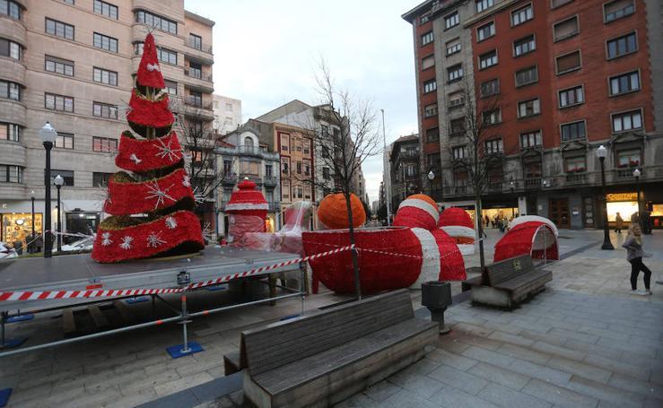 Gijón se viste de Navidad