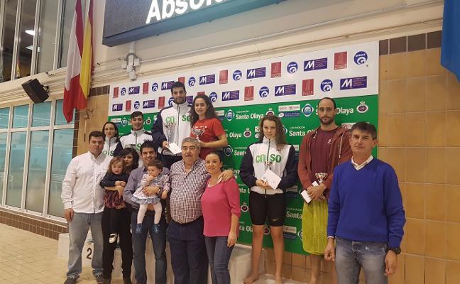 Adrián Vallina y Laura Lorenzo se llevan el Trofeo Alberto Balbín