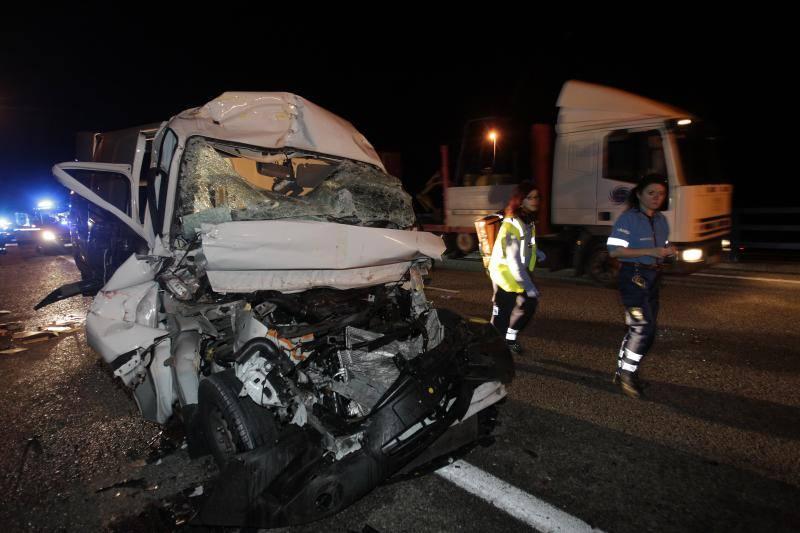 Grave accidente en Oviedo