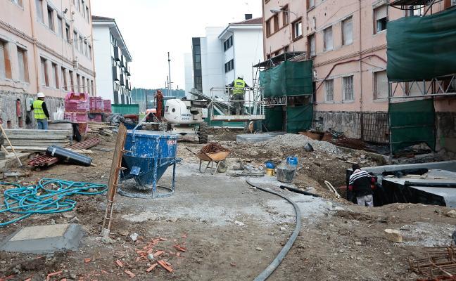 La regla de gasto impide aprobar este año ocho millones de euros en ayudas a fachadas