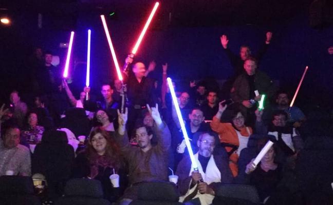 Los últimos Jedi toman Asturias