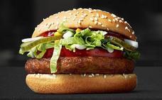 Así es la nueva hamburguesa vegana que lanza McDonald's