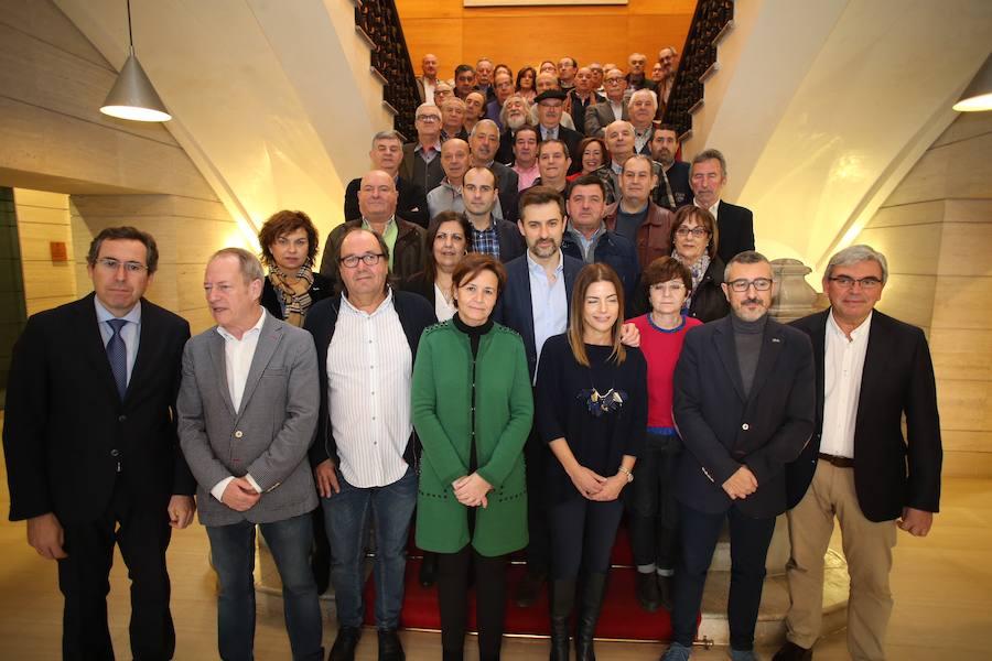 Homenaje a los funcionarios de Gijón jubilados en este 2017