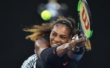 Serena Williams regresa a las pistas tras su maternidad