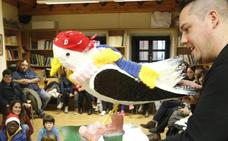 Cimavilla incita a la lectura infantil con una gaviota llamada 'Cimi'