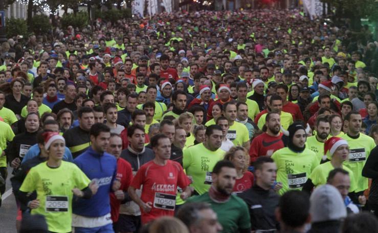 ¿Estuviste en la San Silvestre de Oviedo? ¡Búscate!