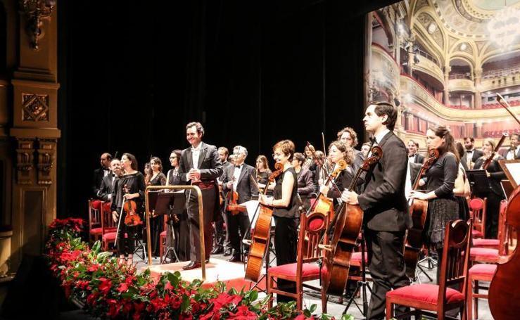 Avilés estrena 2018 con el tradicional concierto sinfónico