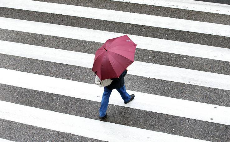 Asturias recibe a los Reyes con lluvias