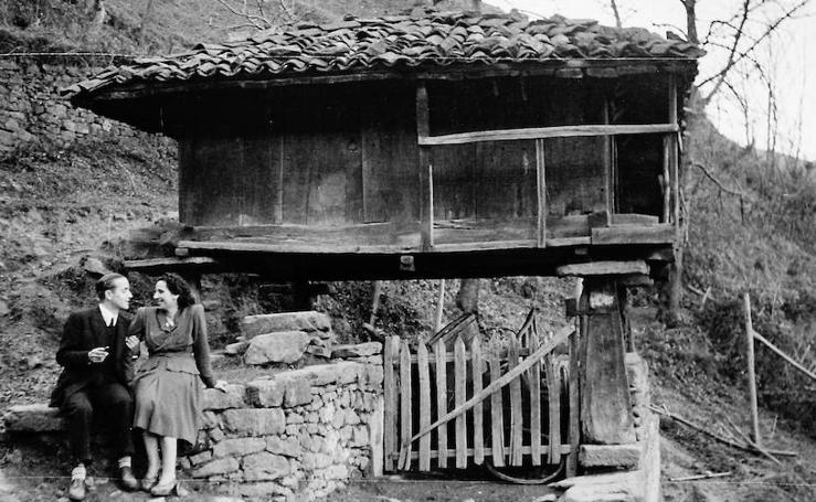 Imágenes de una Asturias de posguerra
