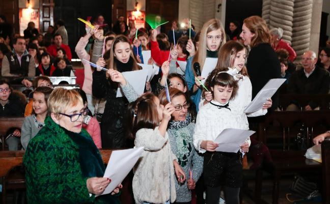Último canto a la Navidad en Somió