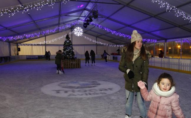 La pista de patinaje sobre hielo cierra hoy sus puertas