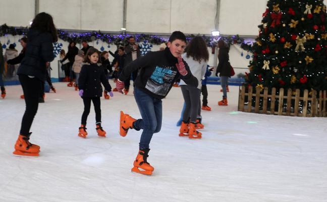 'Bruno' y 'Ana' pasan factura a la pista de patinaje y al mercadillo de Begoña