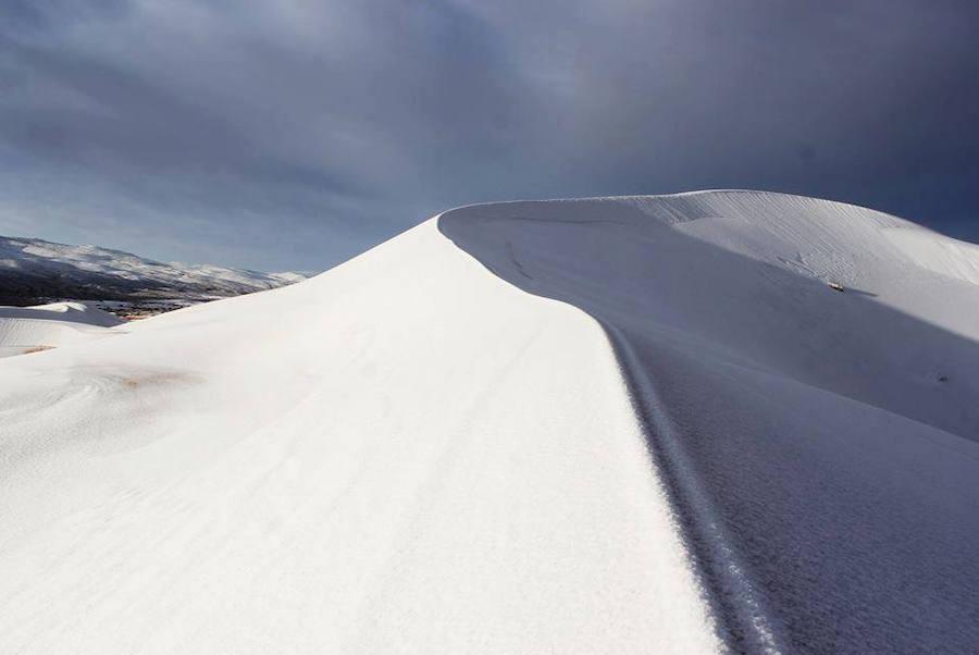 El Sáhara, nevado