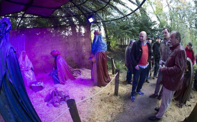 Las actividades navideñas ambientales congregaron a más de 45.000 personas