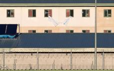 Interior vacía de inmigrantes la cárcel de Archidona
