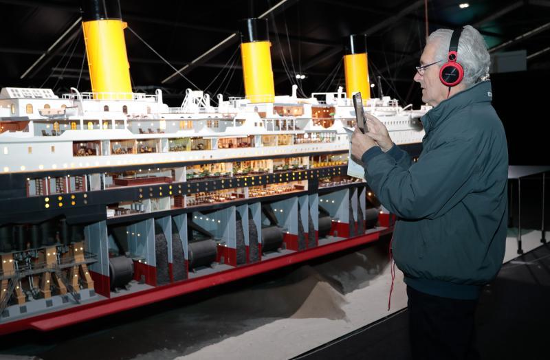 La exposición sobre el Titanic se despide de Gijón
