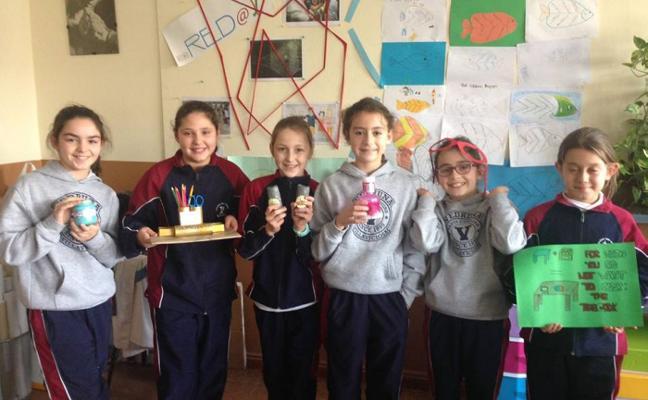 Los estudiantes del colegio San Rafael, auténticos inventores
