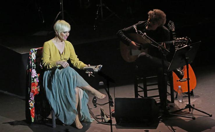 Pasión Vega en concierto en el Teatro de la Laboral
