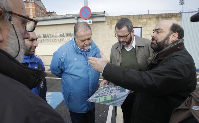 Rosón: «Que Agustín tiene una situación complicada lo sabe todo Oviedo»