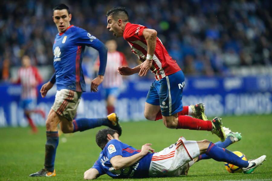 El Real Oviedo 2-1 Sporting, en imágenes