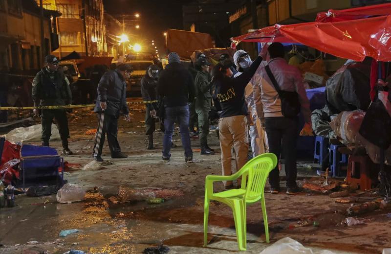 Varios muertos tras una explosión en el Carnaval de Oruro, en Bolivia