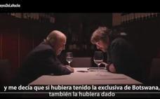 El rey Juan Carlos cuelga el teléfono a 'Salvados' al mencionar Botsuana