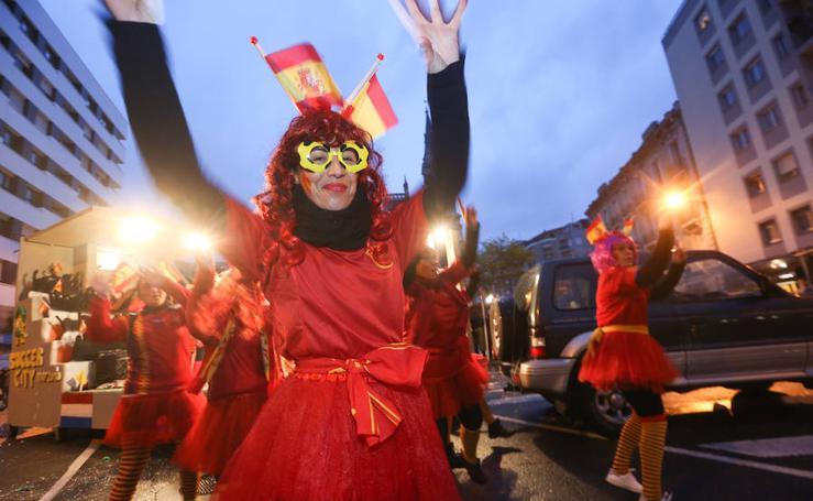 Avilés celebra su desfile de carnaval