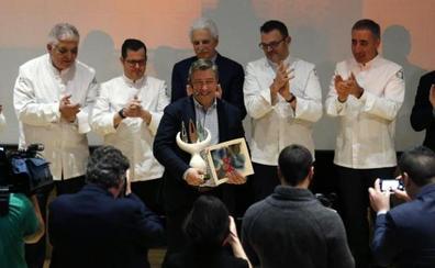 Joan Roca, premio de Fomento de la Cocina Asturiana: «Nunca hemos tenido prisa»
