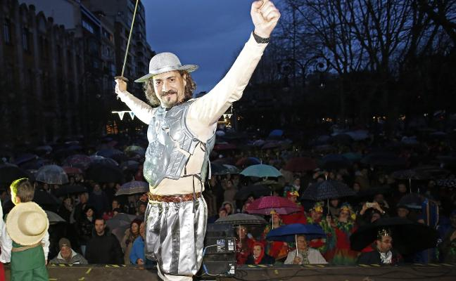 Antroxu de Gijón   El amor medieval se lleva el triunfo