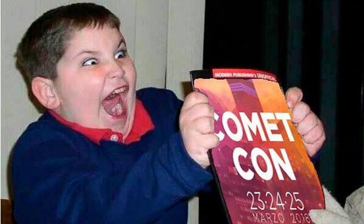 Los mejores memes en defensa de la Cometcon