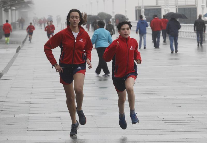 Alumnos del Codema corren en San Lorenzo por una buena causa