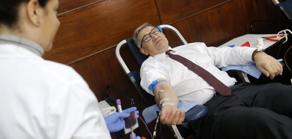 «Transfundiría mi sangre al consejero si con eso lograra el nuevo grado de la EPI»