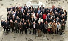 Toma de posesión de catedráticos y profesores de la Universidad de Oviedo