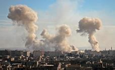 200 civiles muertos, 60 niños, por los bombardeos de la aviación siria cerca de Damasco