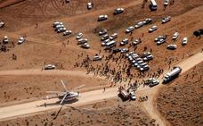 Recuperan 30 cadáveres del avión siniestrado en Irán