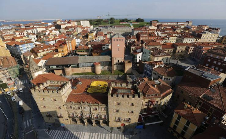 Gijón, desde la altura
