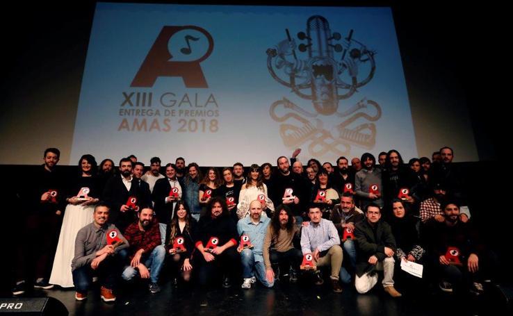 Gala de entrega de los premios Amas 2018