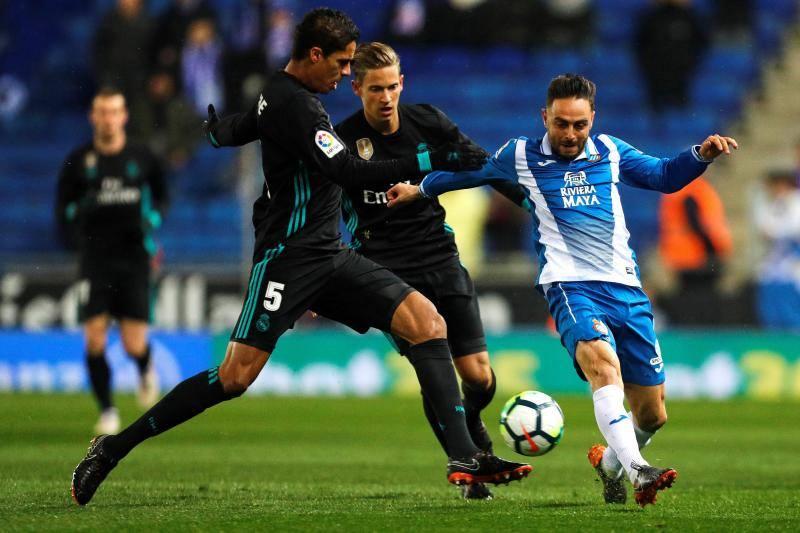 El Espanyol-Real Madrid, en imágenes