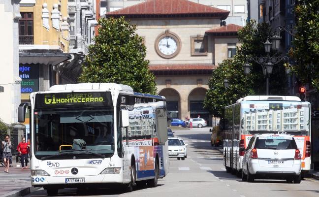 Oviedo pasará de trece a quince líneas de autobús, cuatro de ellas circulares