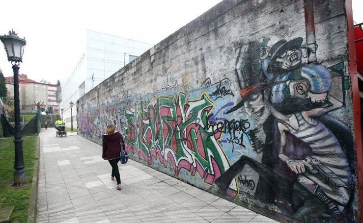 Oviedo, repleta de grafitis