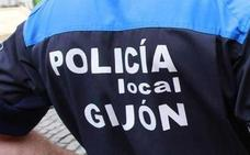 Detenido en Gijón por lesionar a unos policías tras amenazar a una mujer que le acompañaba