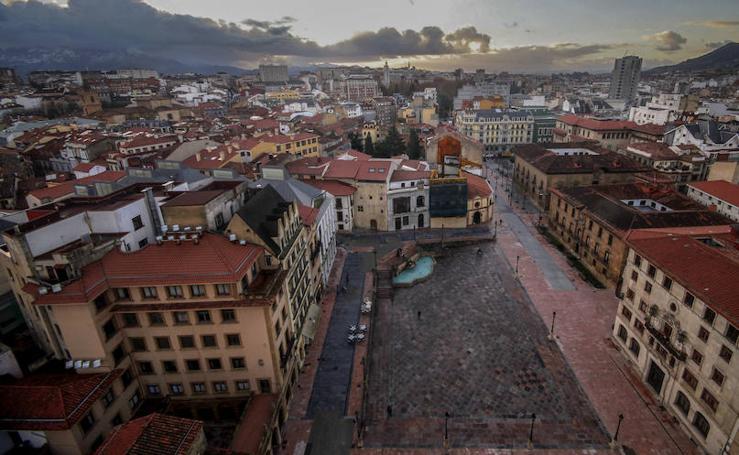 Oviedo, desde las alturas