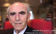 Muere Fermín Ezcurra, eterno presidente de Osasuna