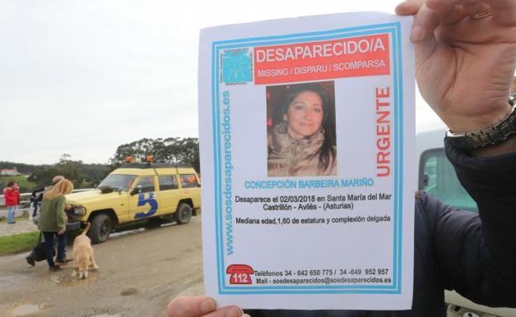Castrillón busca a Concepción Barbeira