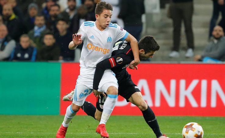 Las mejores imágenes del Marsella-Athletic