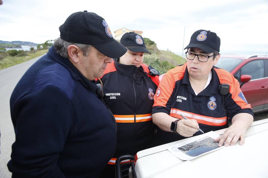 Nueva jornada de búsqueda de Lorena Torre en Gijón