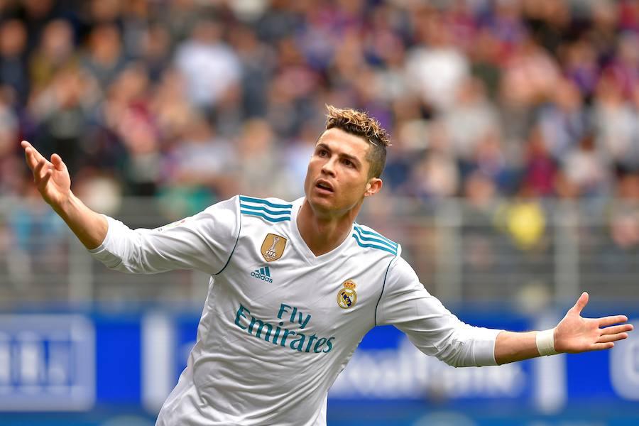 Las mejores imágenes del Eibar-Real Madrid
