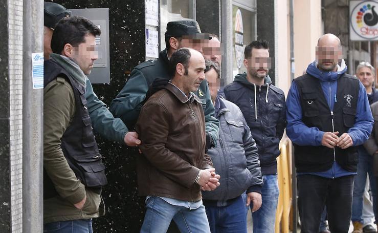 Javier Ledo, trasladado a prisión por el asesinato de Paz Fernández