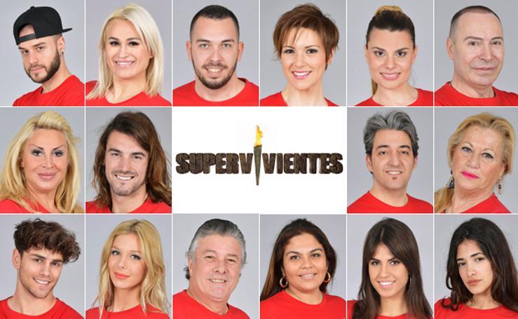 Concursantes de Supervivientes 2018